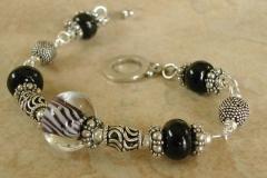 black lamp bracelet